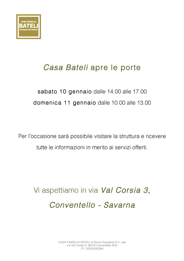 Openday_Casa Bateli